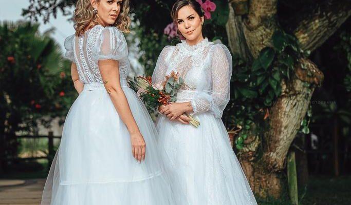 Sofisticação do seu vestido de noiva sob medida com Dja Ateliê